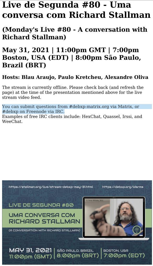 RMS Brazil