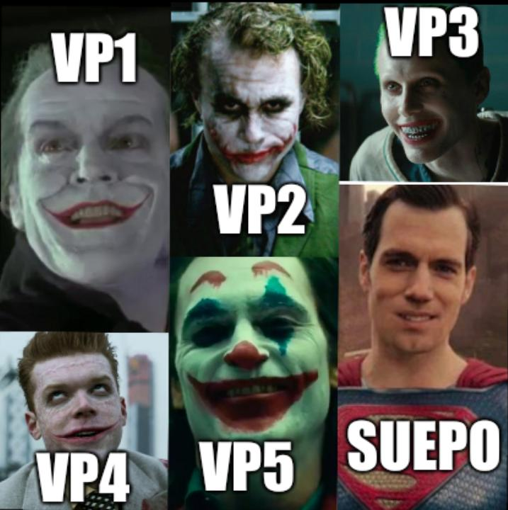 SUEPO and VPs
