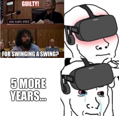 5 more years... in virtual prison