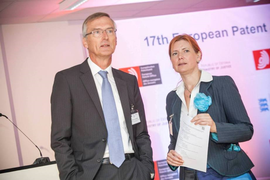 Wim van der Eijk as EPO vice-president