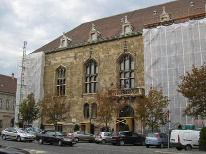 House of the Hungarian Culture Foundation undergoing renovation in 2013