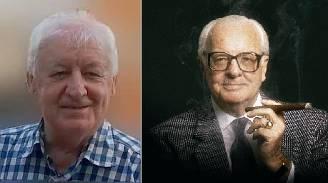 Mihály J. Ficsor  and his mentor, Árpád Bogsch