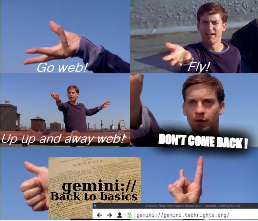 Web: Don't come back!