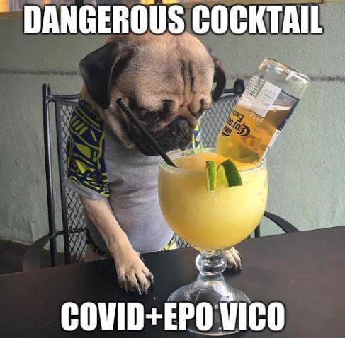 Dangerous cocktail: COVID+EPO ViCo