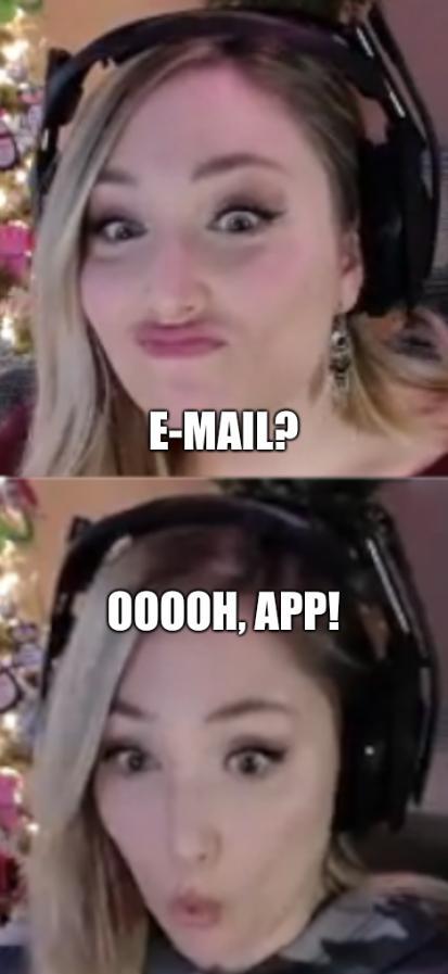 E-mail? Ooooh, app!