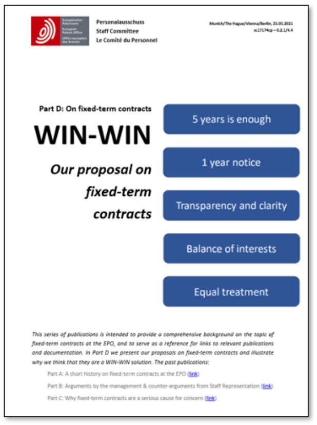 WIN-WIN counter-proposal
