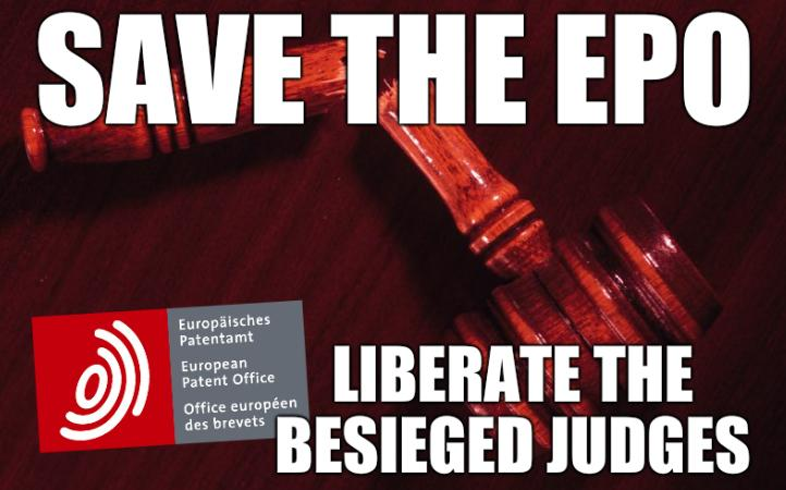 Save the EPO! Liberate the besieged judges