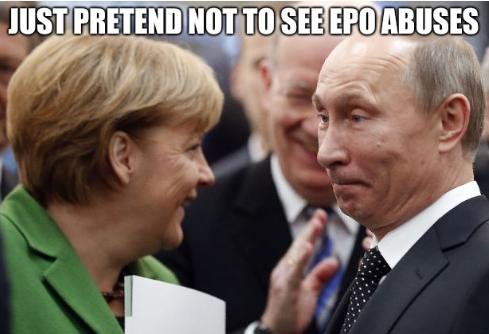 Just pretend not to see EPO abuses