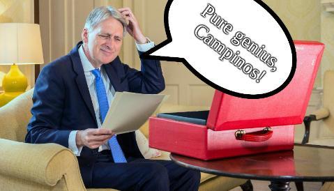 Pure genius, Campinos!