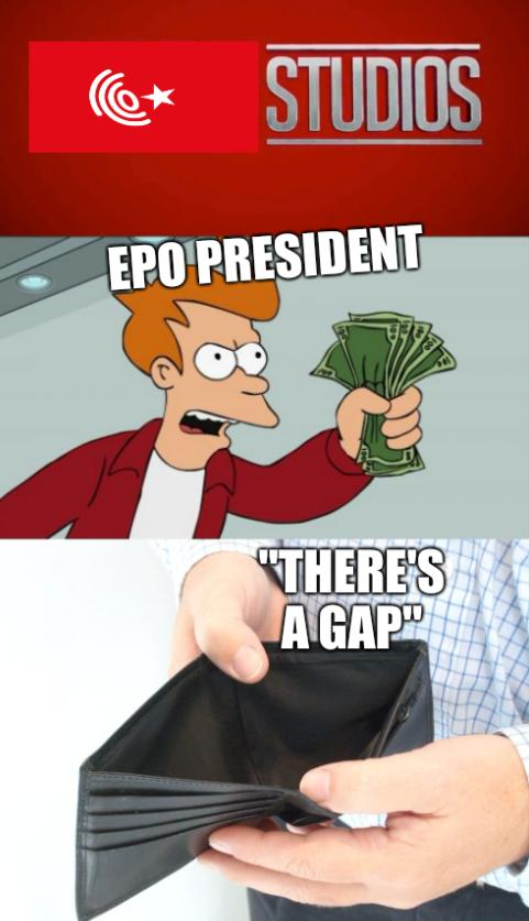 EPO President; 'There's a gap'
