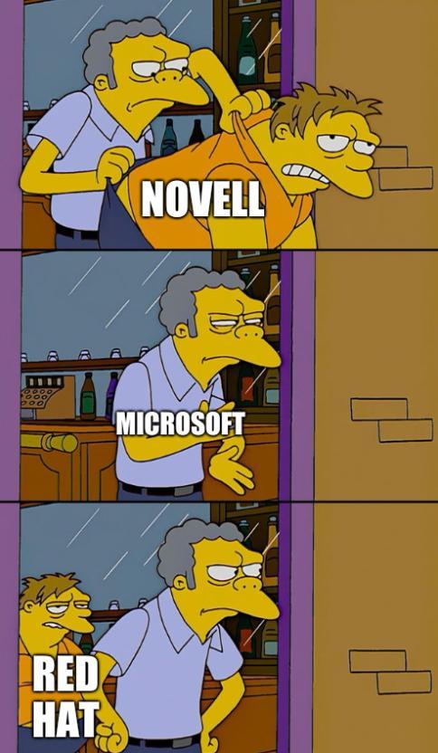 Novell, Microsoft, Red Hat