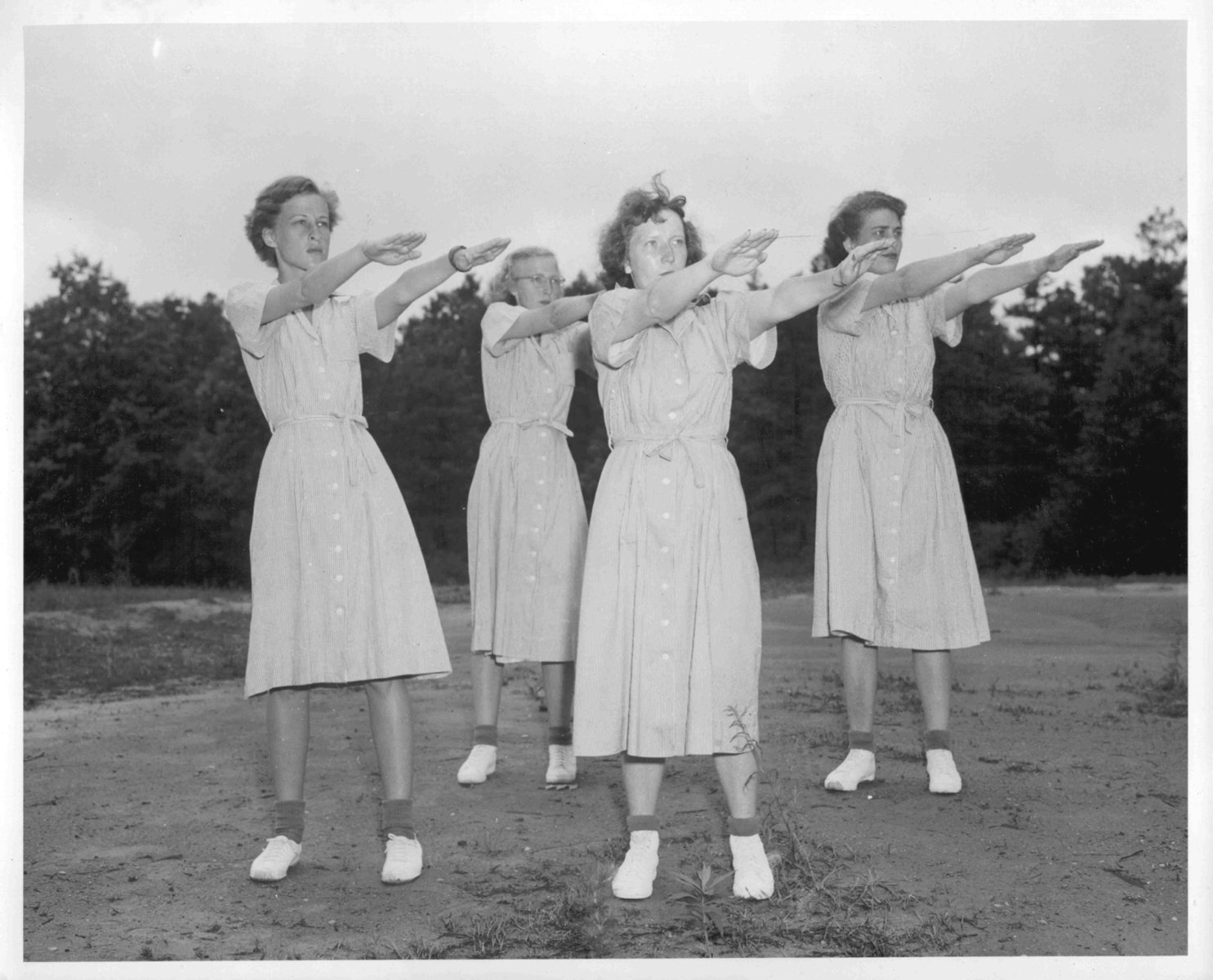 Exercise in the 1950