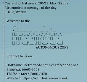 Freenode shrinking