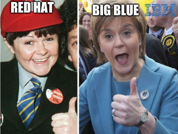 Krankie Sturgeon: Red Hat, Big blue