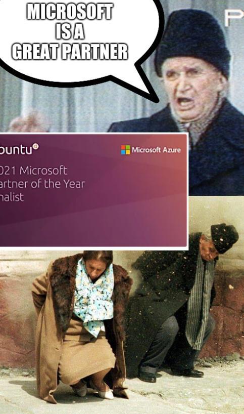 Nicolae Ceaușescu: Microsoft is a great partner