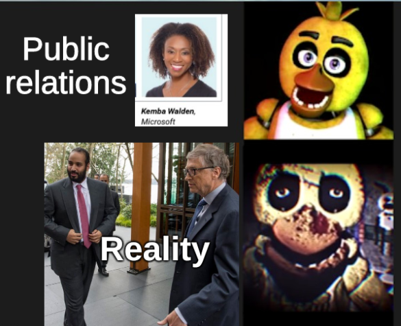 Public relations and Reality of Microsoft