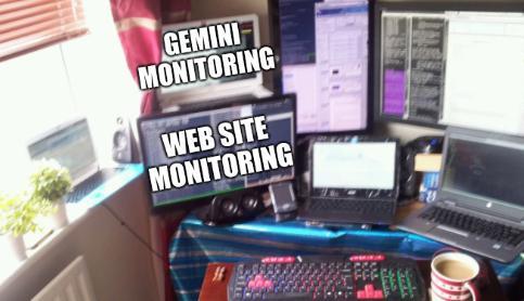 Gemini monitoring and Web site monitoring