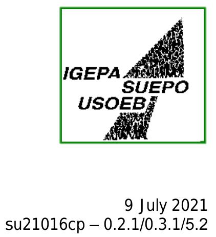 SUEPO publication