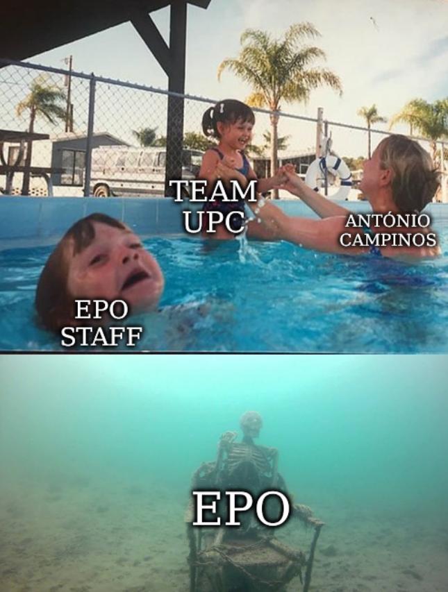 EPO staff, Team UPC, António Campinos, and EPO