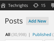 Techrghts post number 30,999