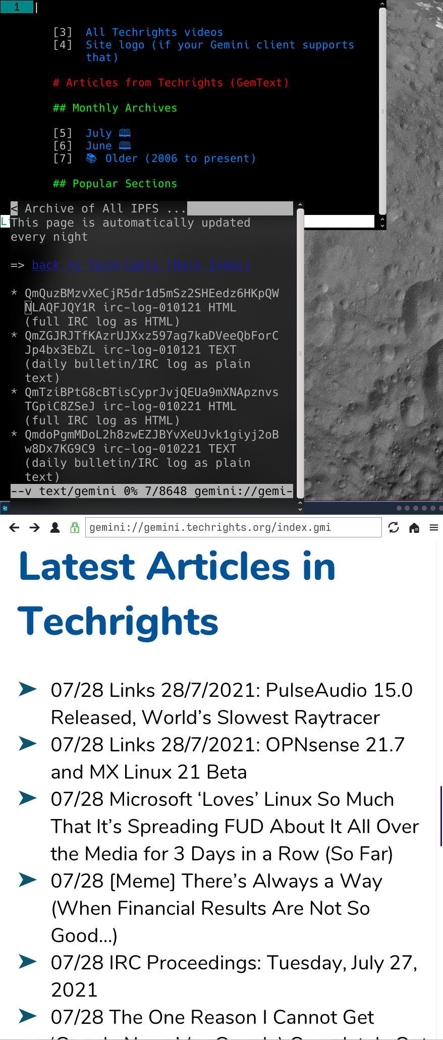 Techrights in gemini://