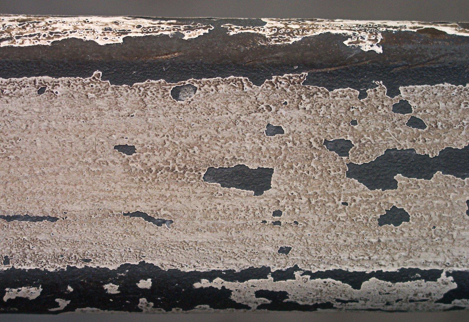 Texture - worn railing white