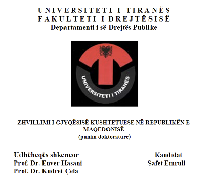 Emruli's thesis