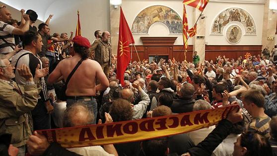 Macedonia's Gruevski