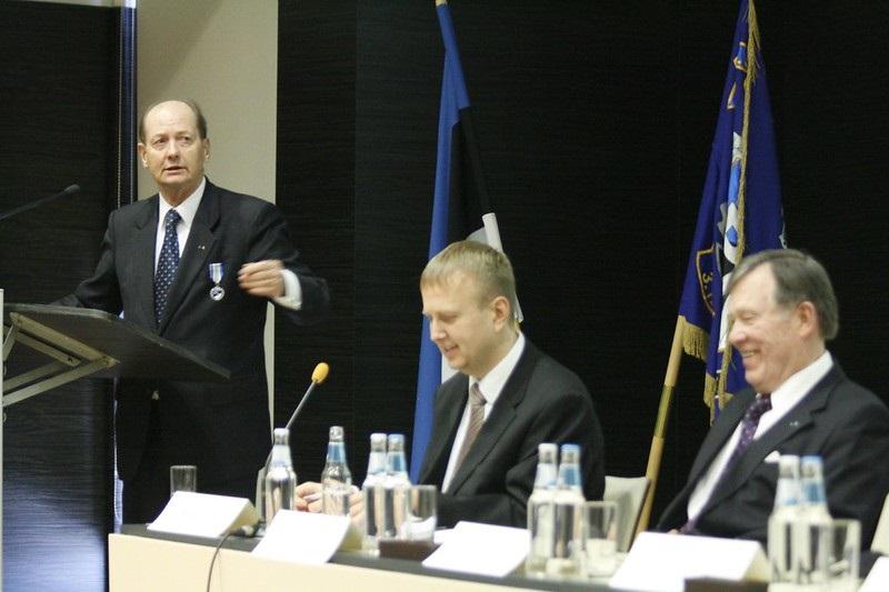 Martti of Finland in Estonia
