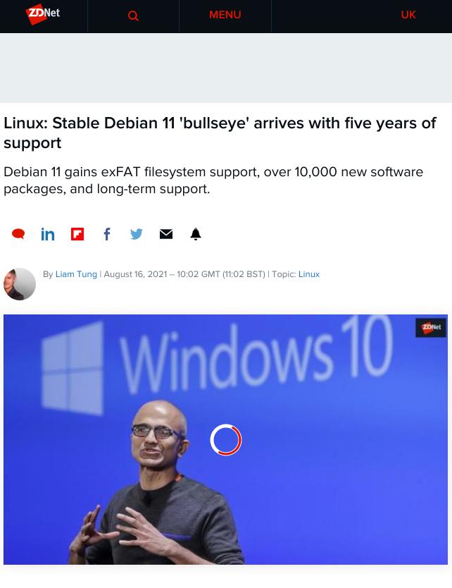 Debian spam
