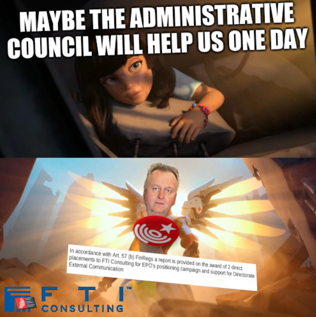 Maybe the Administrative Council will help us one day