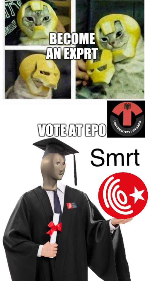 Become an expert, Vote at EPO
