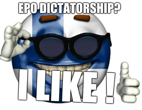 Finnish Picardia: EPO dictatorship? I like!