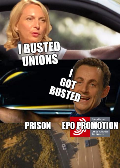 I busted unions, I got busted, prison and EPO promotion