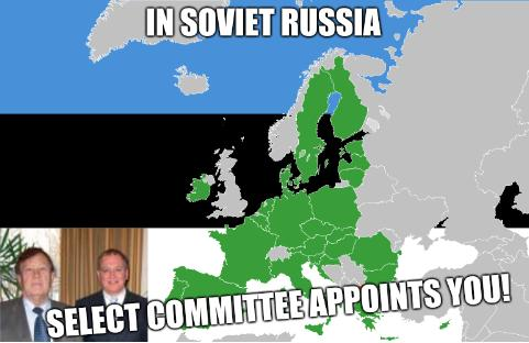 In Soviet Russia, Select Committee appoints you!