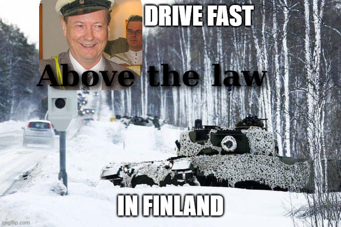 Above the law in Finland