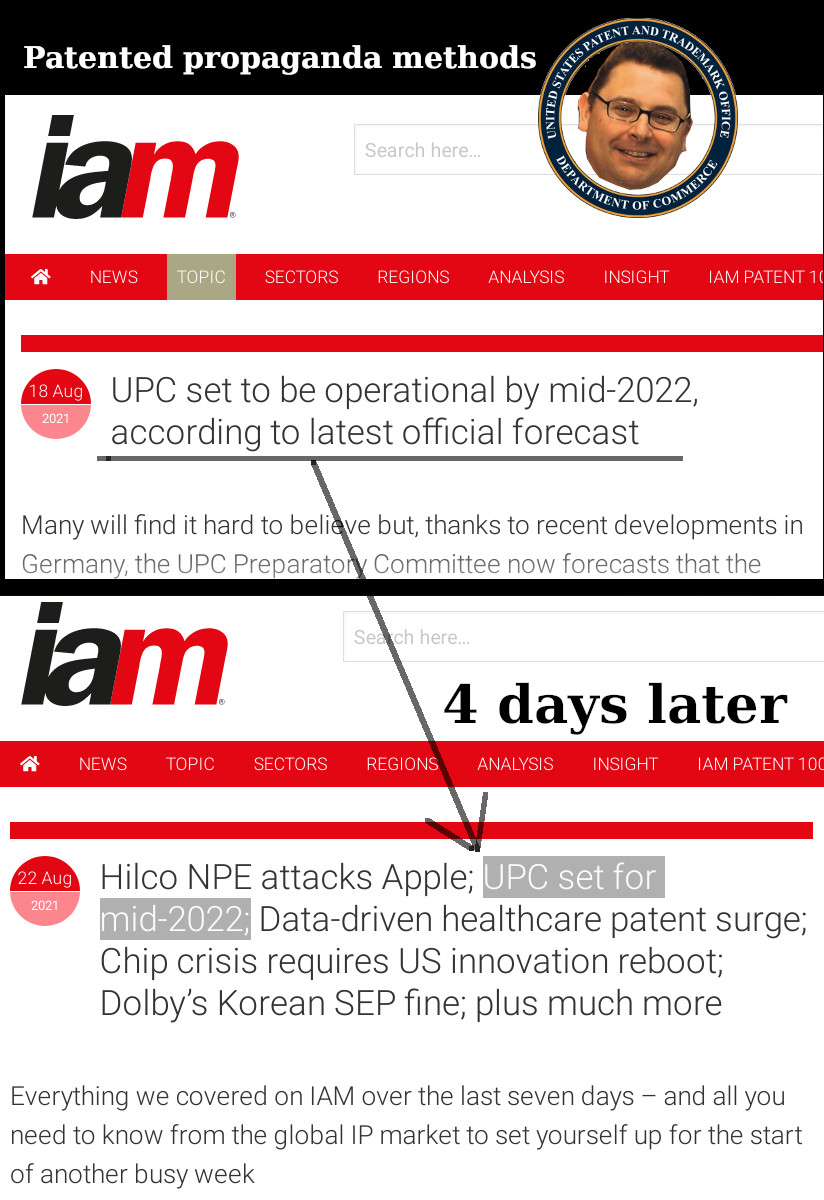 Patented propaganda methods