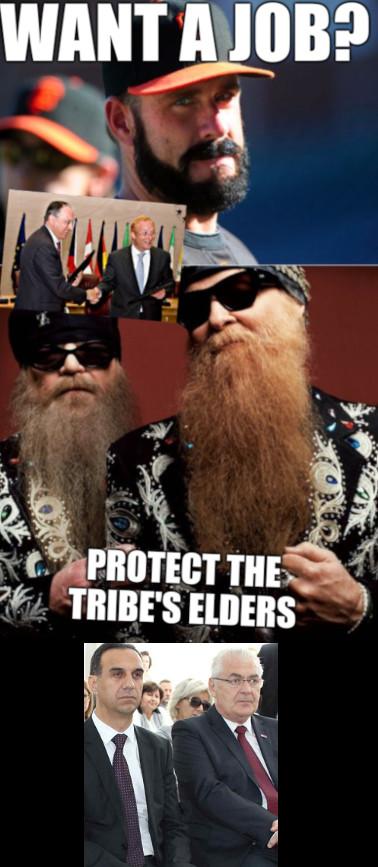 Brian Wilson Vs ZZ: Want a job? Protect the tribe's elders