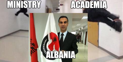 Academia; Ministry; Albania