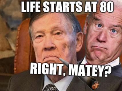 Matti Päts: Life starts at 80... Right, matey?