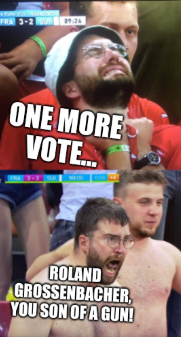 One more vote... Roland Grossenbacher, you son of a gun!