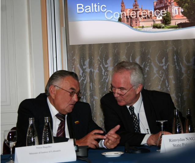 Petras Baguška and Rimvydas Naujokas