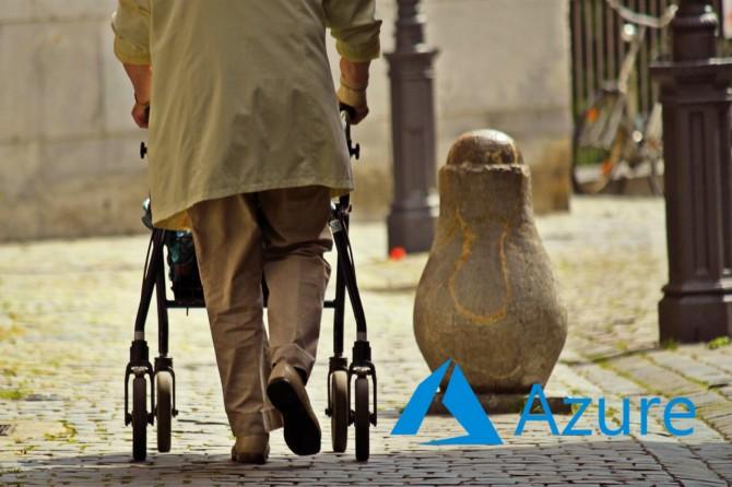 Azure walking