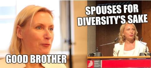 Good brother; Spouses for diversity's sake