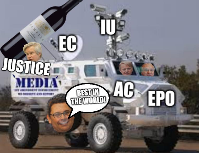 AC, EPO, IU, EC, Justice, best in the world!
