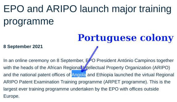 EPO and ARIPO launch major training programme