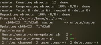 Git example