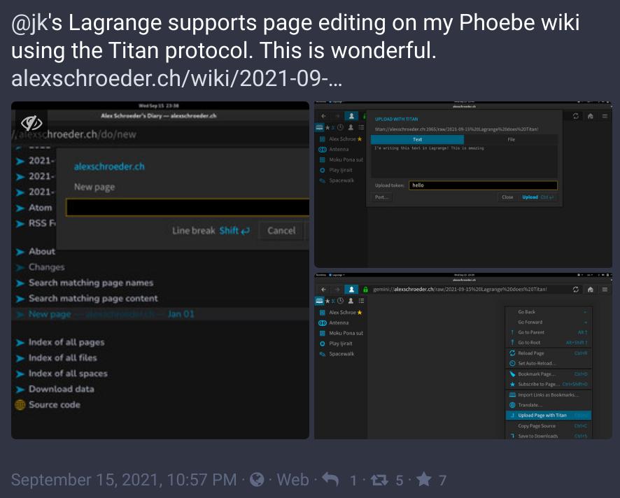Lagrange editing