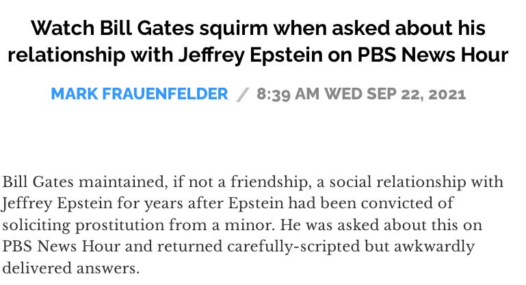 PBS on Gates