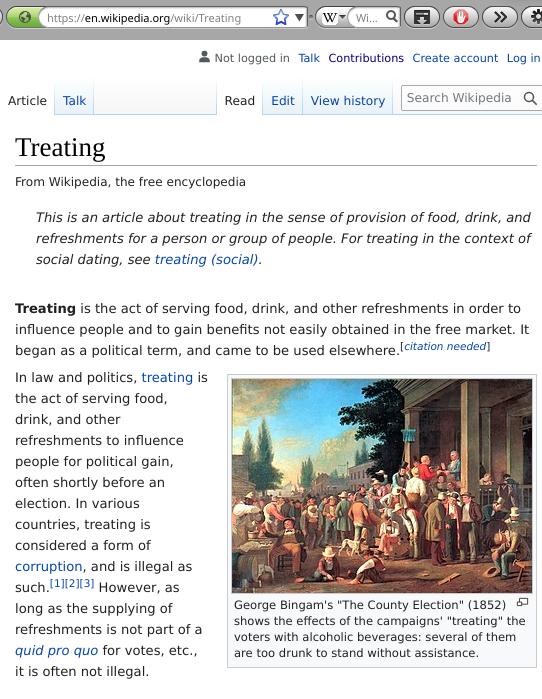 treating